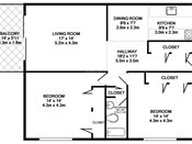 Robinwood Two Bedroom Floorplan