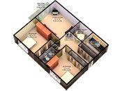 Robinwood 3D Two Bedroom Floorplan