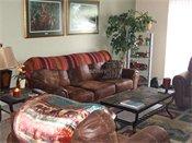 Royal Oaks Apartments Model Living Room