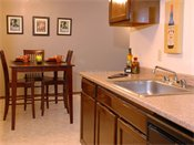 Terra Pointe Apartments Kitchen