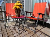 Terra Pointe Apartments Patio