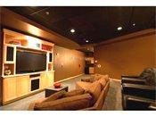 Hiawatha Flats Apartments Big Screen TV Theater