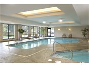 Hiawatha Flats Apartments Swimming Pool and Jacuzzi
