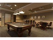 Hiawatha Flats Apartments Billiard Room