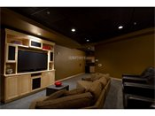 Hiawatha Flats Apartments Big Screen TV Theater