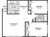 International Village Two Bedroom One Bath