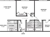 International Village Two Bedroom Two Bath