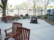 Hopkins Village Senior Apts Patio