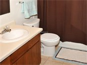 Woodridge Apartments Model Bathroom