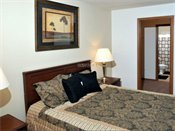 Woodridge Apartments Model Bedroom