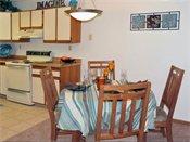 Woodridge Apartments Model Dining Room