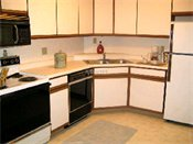 Fountain Place Apartment Homes Kitchen