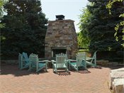 Windsong Outdoor Fireplace