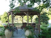 Edina Highland Villa Gazebo