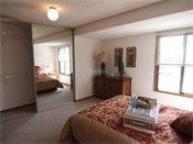 Auburn Townhomes Model Bedroom
