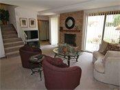 Auburn Townhomes Model Living Room