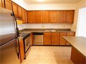 Auburn Townhomes Model Kitchen