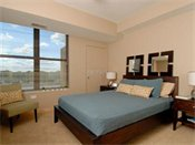 Riverfront Apartments Model Bedroom