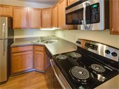 Greenfield Apartments Model Kitchen