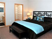 The Ellipse on Excelsior Blvd Model Bedroom