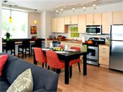 The Ellipse on Excelsior Blvd Model Kitchen