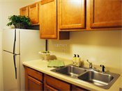 Hampden Square Townhomes Model Kitchen