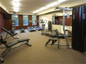 York Place Apartments Exercise Room