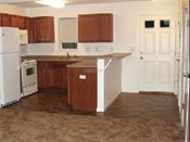 Park Place Townhomes Kitchen