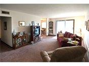 Edgerton Manor Model Living Room