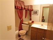 Saddlewood Park Townhomes Model Bathroom