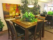 Saddlewood Park Townhomes Model Dining Room