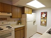 Saddlewood Park Townhomes Model Kitchen