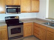 Deer Ridge Townhomes Upgraded Kitchen