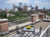 Kenwood Gables Penthouse Rooftop Patio