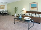 Sage Park Model Living Room
