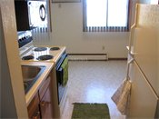 Lakeview Apartments Kitchen