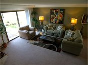 Fox Forest Townhomes Model Living Room