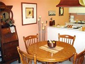Colony Townhomes Model Dining Room