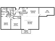 Rosedale Estates Two Plus Den Floorplan