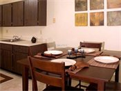 Shoreview Grand Apartments Model Dining Room