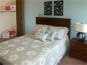 Shoreview Grand Apartments Model Bedroom
