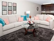 Shoreview Grand Apartments Model Living Room
