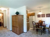 Walden Woods Apartments Model Dining Room