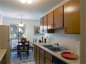 Walden Woods Apartments Model Kitchen