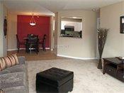 Highland Ridge Model Living Room