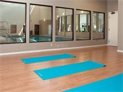 Highland Ridge Yoga Room