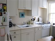 Highland Village Apartments Model Kitchen