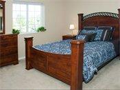 Carver Lake Townhomes Model Bedroom