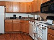 Carver Lake Townhomes Model Kitchen