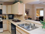Stonehill Apartments Model Kitchen
